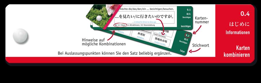Japan-Riegel Beispielseite