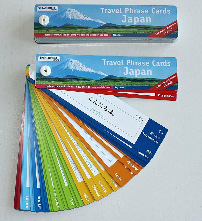 Travel Phrase Cards - Japan